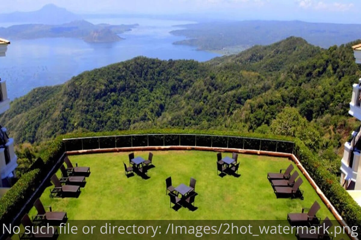 The Lake Hotel Tagaytay Review View from top floor