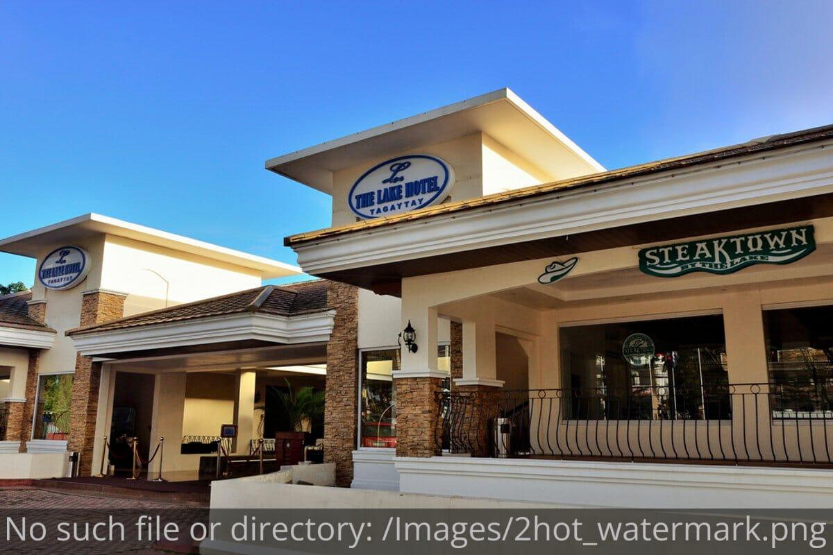 Lake hotel Tagaytay SteakTown