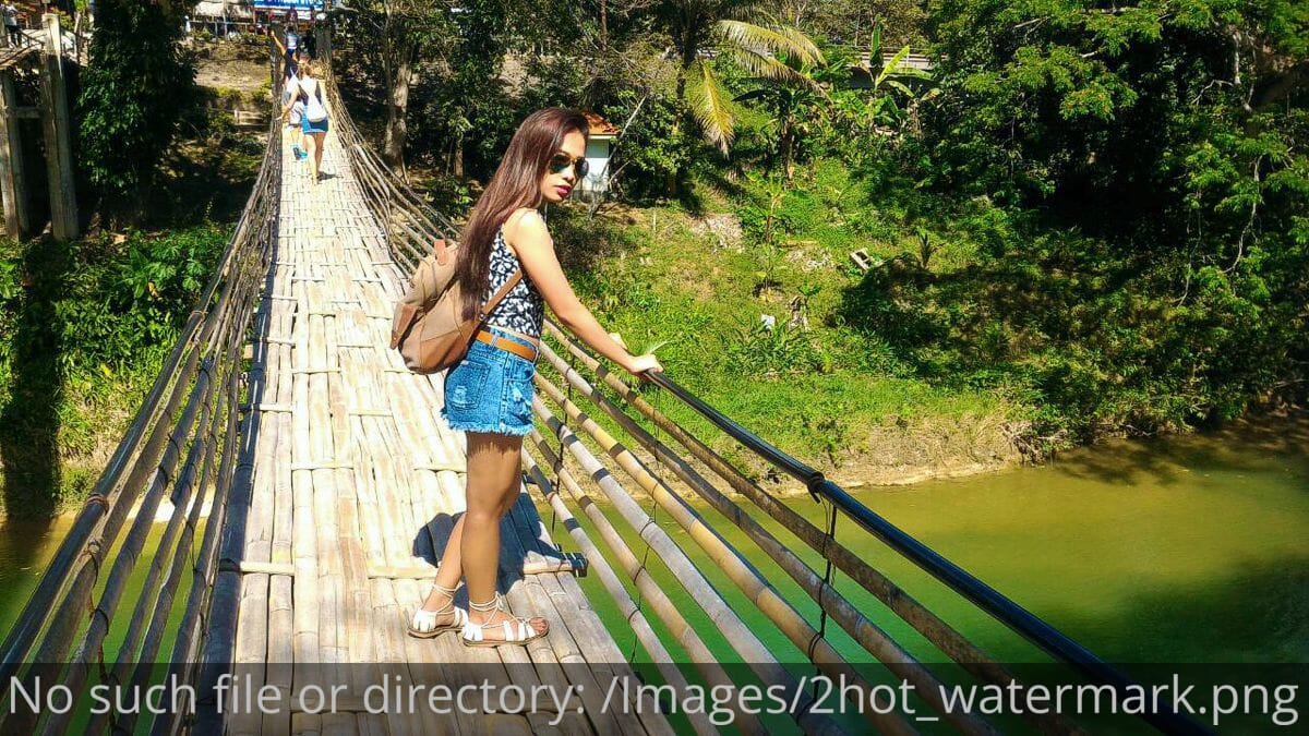 The Twin Hanging Bridges of Sevilla Bohol